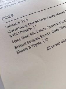 oklava menu