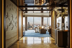 The Shangri La Hotel at The Shard, London