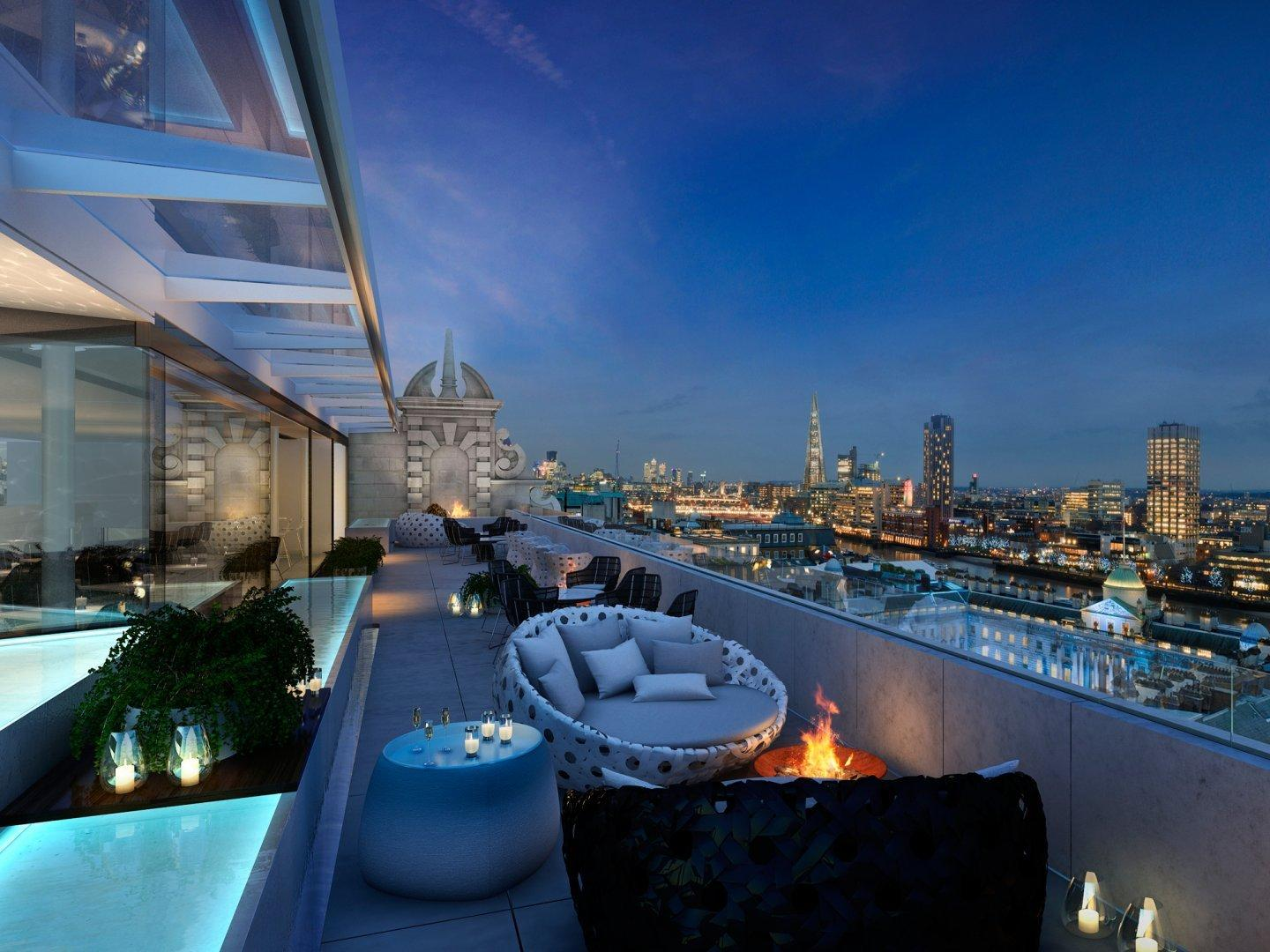 Summer Brunches at The Radio Rooftop Bar London