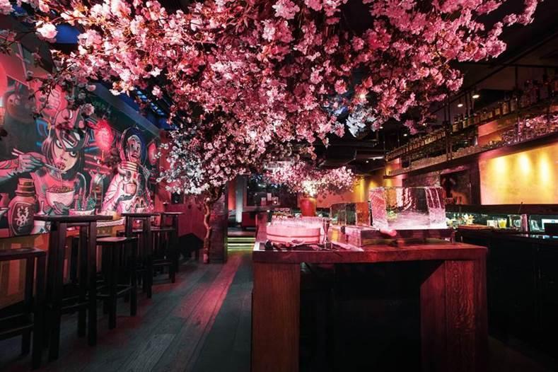 Roka Charlotte Street: Where the Cherry Blossoms bloom