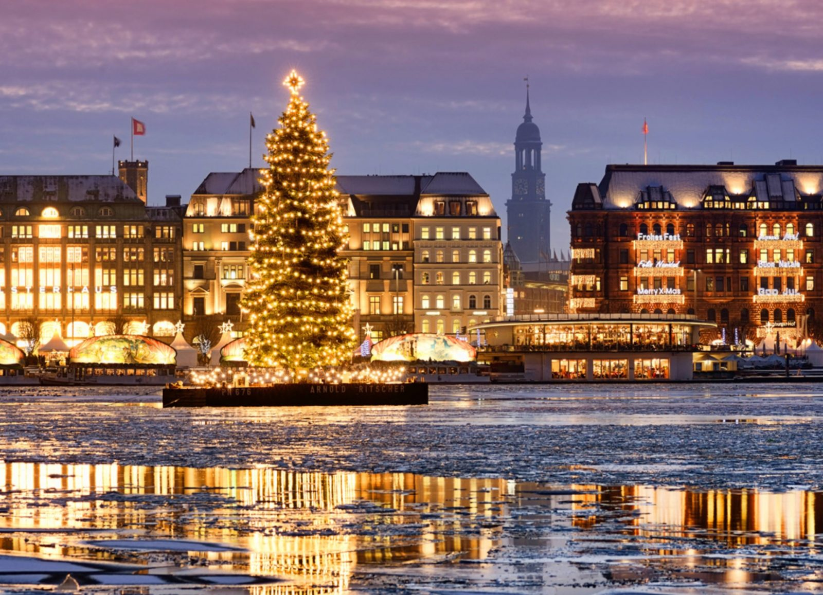 Culture and Christmas in Hamburg